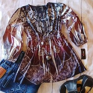 NWT Style & Co Jeans Tunic
